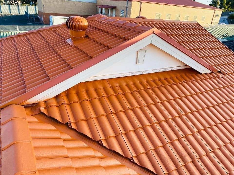 painted roof